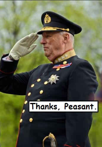 king salute