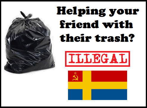 illegal trash