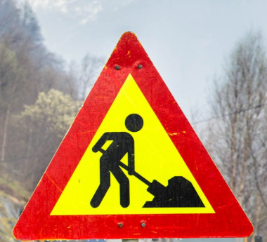 norwegian road sign