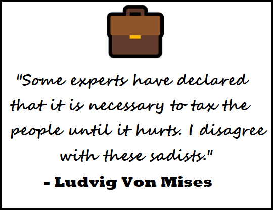Taxes By Ludvig Von Mises