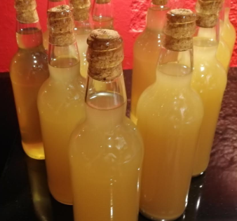dandelion wine bottled